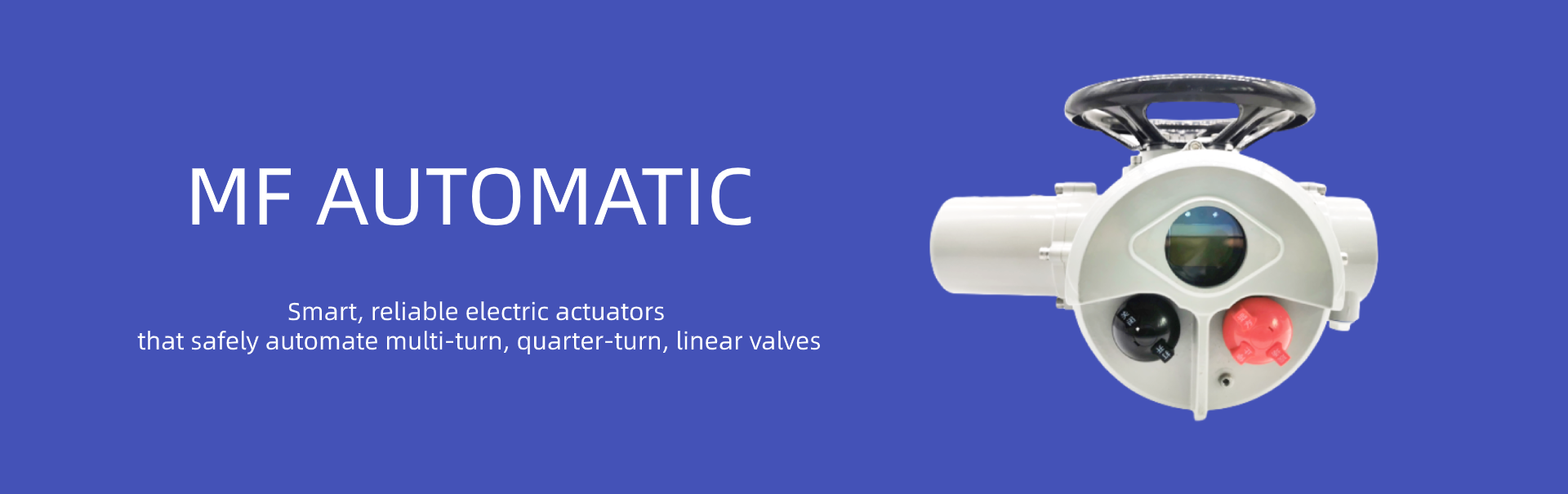 Valve Electric Actuators Chinese Supplier