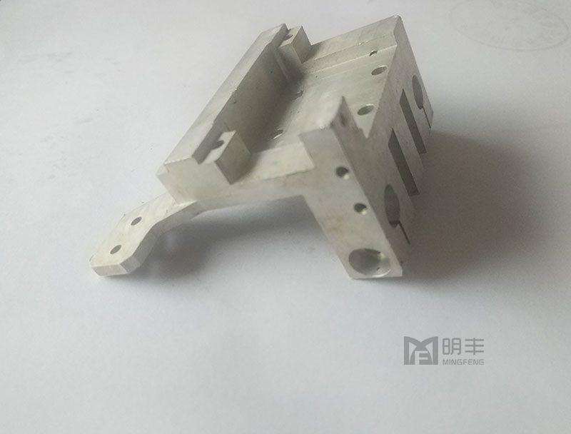 Colorful custom cnc machining anodized aluminium Stop Block