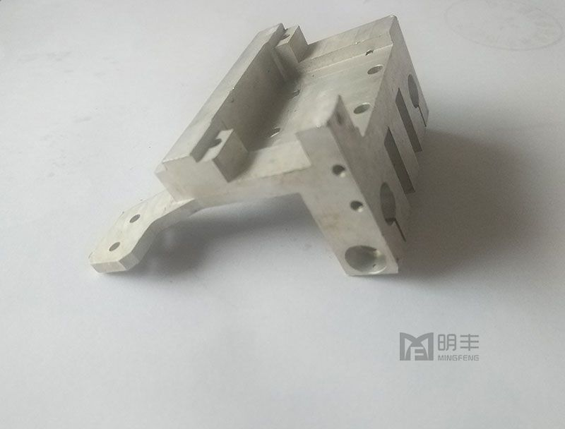 Colorful custom cnc machining anodized aluminium Stop Block