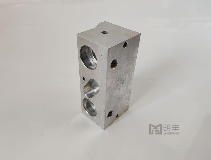 Custom Professional aluminum cnc machining hydraulic valve