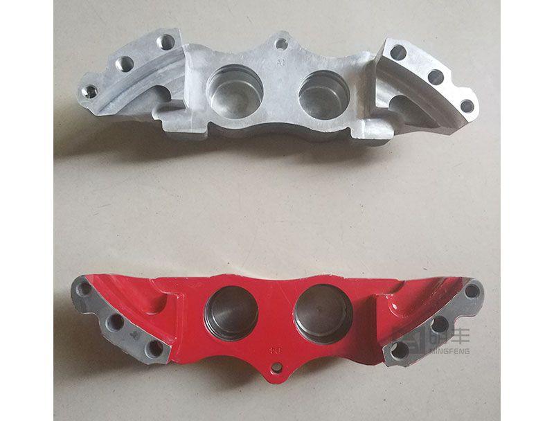 Custom precision aluminum forging parts Brake Calipers