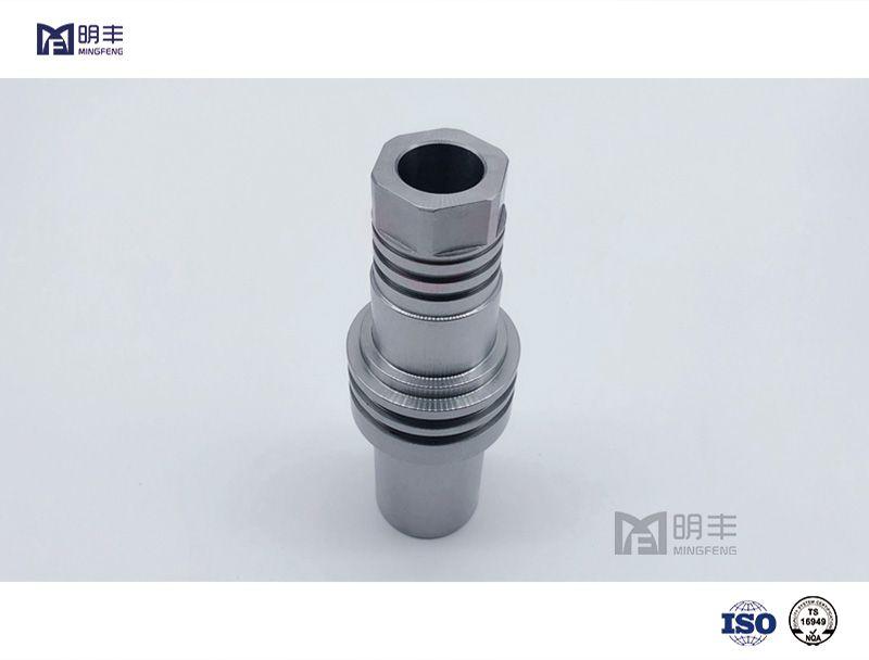 Custom made mechanical Precision Gear Shaft