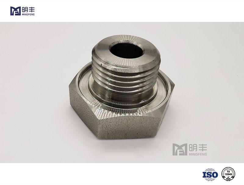High quality custom Stainless Steel Orifice Stem Cap